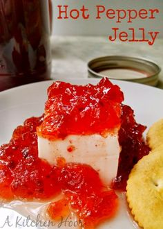 Hot Pepper Jelly for #SundaySupper by A Kitchen Hoor's Adventures