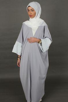 Création Abaya  ALYSA gris