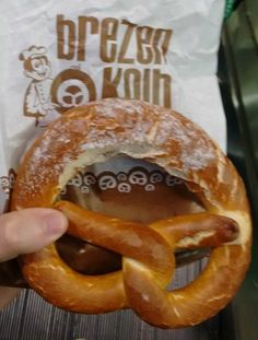 Best Brezel in the World [@Brezen Kolb, Nuremberg, Germany]