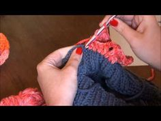Shawl crochet pattern - acorn and raspberry stitch combination - YouTube