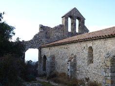 église château d'Aumelas.forteresse féodale (Hérault) XIè-XIVè siècle