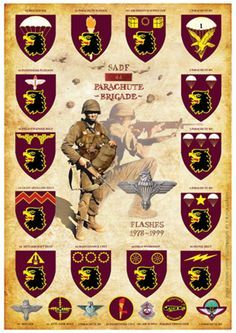 Military Tactics, Military Ranks, Military Insignia, Military Police, Military History, Military Gear, Military Vehicles, Airborne Army, South African Air Force