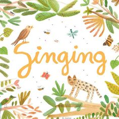 Singing is good for the soul! :) ... Working on project about #singing #lettering #logodesign #illustration #ilustracion #graphicdesign