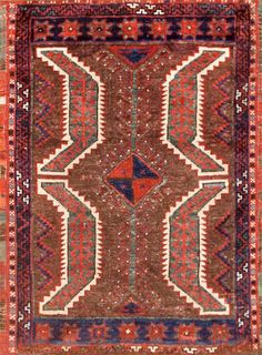 Yastic rug Turkey late 19th century size approximately 2ft. 2in. x 3ft.