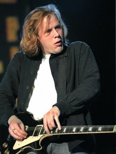 Jeff Healy, (March 25, 1966 – March 2, 2008) was a blind Canadian jazz and blues-rock vocalist and guitarist, renowned for his excellent slide playing. He is awesome!! He Played Part in the Movie: Road House, I can hear him a Playing <3