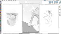 Speed sketch 30min