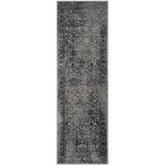 Shop for Safavieh Adirondack Vintage Grey/ Black Runner Rug (2' 6 x 12'). Get free shipping at Overstock.com - Your Online Home Decor Outlet Store! Get 5% in rewards with Club O!