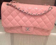 :: pink Chanel bag ::