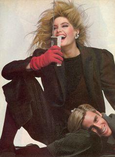 Perry Ellis - model Kelly Emberg