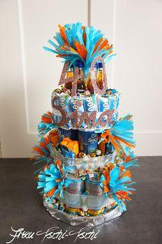 Frau Tschi-Tschi: Große Prosecco - Torte zum 40. Geburtstag