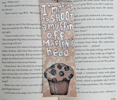 Divergent Bookmark // Uriah Quote // I'm going by PeelsandPosies, $6.00