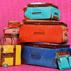 Travel in style with Samantha Brown luggage!