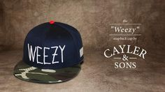 """The """"WEEZY"""" Snapback Cap by Cayler & Sons"""