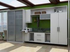 Como fazer os móveis e organizar minha lavanderia?     Acho que essa dúvida não seja somente minha!! rsrs   Umas com espaço menor, outra...