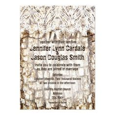 Rustic Country Camo Hunting Tree Bark Wedding Invitations http://www.zazzle.com/rustic_country_camo_hunting_wedding_invitations-161328883882179935?rf=238133515809110851