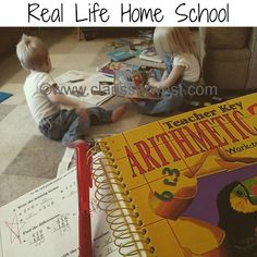Our Homeschool Resources & where we store them in our 1000sqft home as a family of nine!
