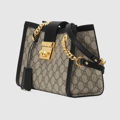 Gucci Padlock small GG shoulder bag – Purses And Handbags Diy Fall Handbags, Fashion Handbags, Fashion Bags, Leather Handbags, Cheap Handbags, Popular Handbags, Leather Totes, Wholesale Handbags, Handbags Online