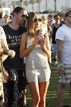 Our favorite style snaps from the 1st weekend of Coachella. Kate Bosworth. #coachella
