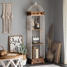 Desk Shelves, Display Shelves, Bookshelves, Bookshelf Styling, Metal Table Legs, Organizing Your Home, Adjustable Shelving, Living Room Furniture, Ladder Decor
