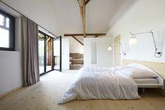 "Haus Laanz ""Stadl"", Parkstetten - ediundsepp – Lang Hugger Rampp Bed, Interior, House, Furniture, Home Decor, Bedroom, Full Bath, Detached House, Sustainability"