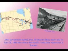 Video telling about the history of CPR. Canadian Pacific Railway, Canadian History, Social Studies, Vancouver, Documentaries, Canada, Gold Rush, Faces, Guys