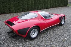 1968 Alfa Romeo Tipo 33 Stradale Regularly voted the best looking motor car in history