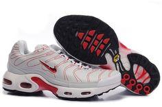Nike Air Max Tn Mens Cobweb White Red