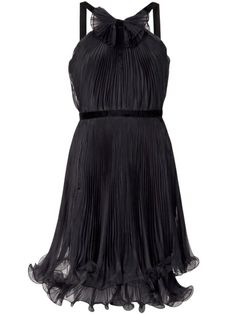 MARCHESA NOTTE Organza Dress