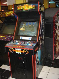 mortal kombat 1 arcade cabinet - Google Search   beat em up arcade ...
