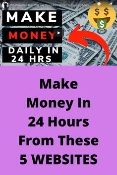 Ways To Make Money Online Work from home Earn Money Online Fast, Online Earning, Online Jobs, Online Income, Ways To Save Money, How To Get Money, Make Money From Home, Affiliate Marketing Jobs, Online Work From Home
