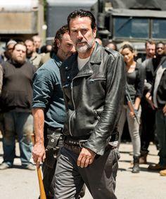 "Season 7 E4 ""Service"" Negan and Rick"