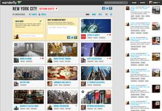 "Wanderfly 2.0 - ""Pinterest Meets Trip Advisor: Wanderfly Launches New Travel Site"""