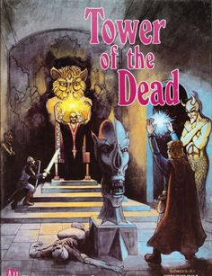Powers & Perils: Tower of the Dead (boxed set) ~ Avalon Hill (1984)