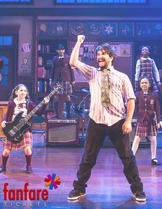 School of Rock Musical. Buy your tickets at fanfaretickets.com