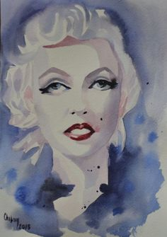 Buy ANGEL MARILYN, Watercolor by Chifan Cătălin Alexandru on Artfinder. Discover thousands of other original paintings, prints, sculptures and photography from independent artists.
