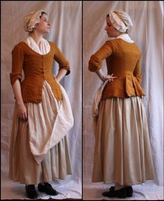 working class clothing for Juniper 18th Century Dress, 18th Century Costume, 18th Century Clothing, 18th Century Fashion, 17th Century, Historical Costume, Historical Clothing, Costume Roi, Mode Lolita