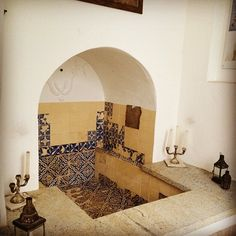 Mikvah dating from 1680 #mikvah Salvador, Bahia.  can't wait to experience a mikvah someday