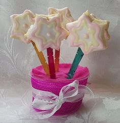 Shortbread Lollipop Cookies