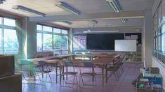 사랑×신아이 그녀 - 기억×시작(記憶×ハジマリ) 한국어 자막 #Duca : 네이버 블로그 Anime Backgrounds Wallpapers, Episode Backgrounds, Anime Scenery Wallpaper, Scenery Background, Animation Background, Anime Classroom, Studio Ghibli Background, Casa Anime, Camera Drawing