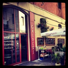Bar restaurant Calders in Born barcelona