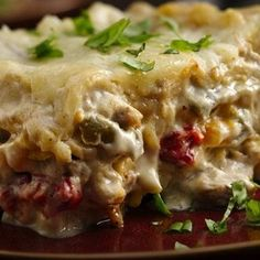 Slow Cooker Lasagna Alfredo Recipe - Pillsbury & ZipList