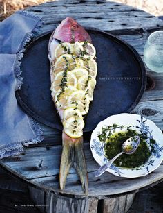Sweet Paul Magazine - Grilled Red Snapper