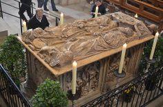 Tilman Riemenschneider.  Bamberger Dom, Kaisergrab Heinrich II und Kunigunde