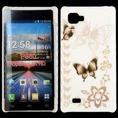 Valentine (Mörka Fjärilar) LG Optimus 4X HD Case