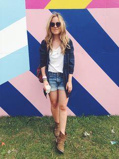 Emily Salomon  Roskilde Festival look