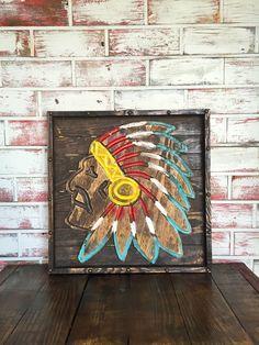 Chief Wall Art. Shabby Chic FurnitureRustic ...