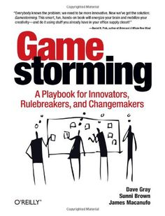 Gamestorming: A Playbook for Innovators, Rulebreakers, and Changemakers by Dave Gray http://www.amazon.co.uk/dp/0596804172/ref=cm_sw_r_pi_dp_MZQjwb03C0KC1