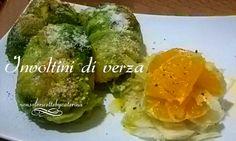 Involtini di verza con polenta