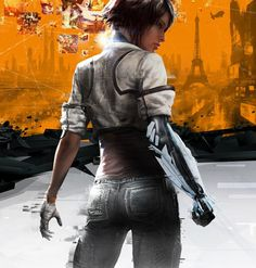 Remember me is another great heroine game, about memory hunters set in Neo Paris about a girl called Nilin who gets her memory wiped by other memory hunters and is fighting 2 get it back, rating M  http://roguerepublik.com/