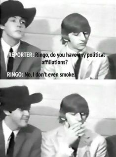 Turns out The Beatles might have had a pretty good backup career as comedians…
